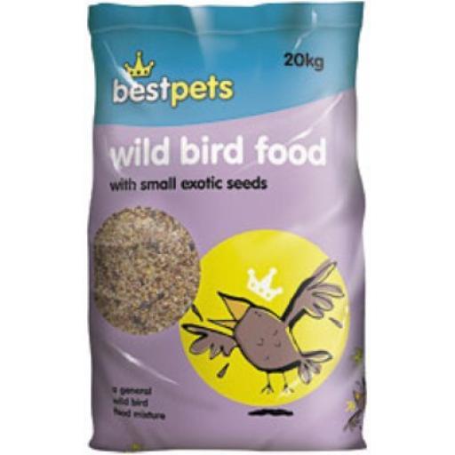 Bestpets Wild Bird Seed 20kg