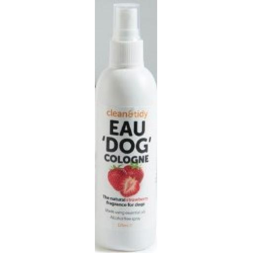 Eau De Cologne Spray For Dogs Strawberry 125 ml
