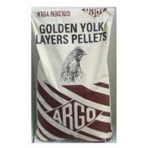 Argo Golden Yolk Layers Pellets 20kg