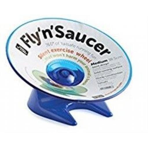 Small 'N' Furry Fly 'N' Saucer Wheel