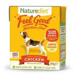 Naturediet Feel Good Chicken Adult Dog Food 390g