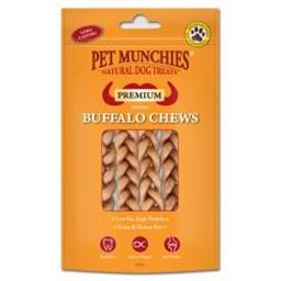 Pet Munchies Buffalo Chew Small 4 Pack