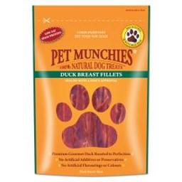 Pet Munchies Duck Breast Fillets 80g