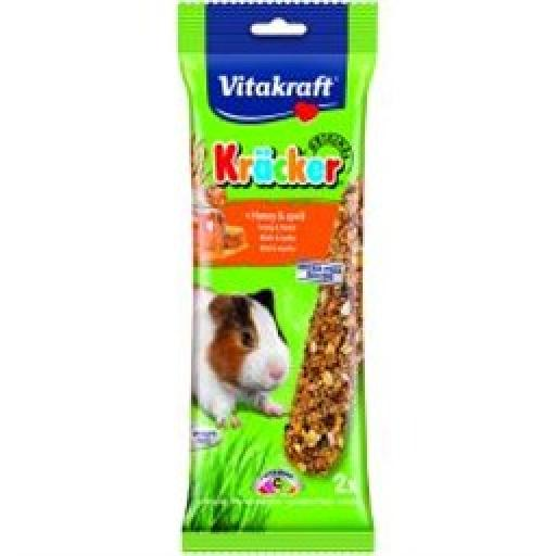 Vitakraft Guinea Pig Honey Stick 2pk