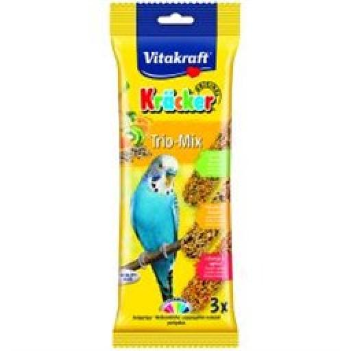 Vitakraft Budgie Orange/Kiwi/Banana Sticks 3pk