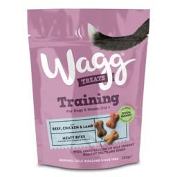 Wagg Training Treats with Beef, Chicken & Lamb 100g