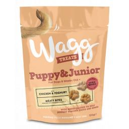 Wagg Puppy & Junior Treats 120g