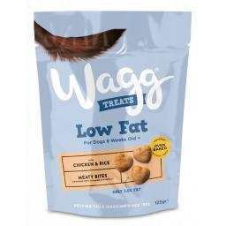 Wagg Low Fat Chicken Treats 125g