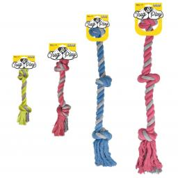 Pet Brands Tug & Play Rope Tug Dog Toy