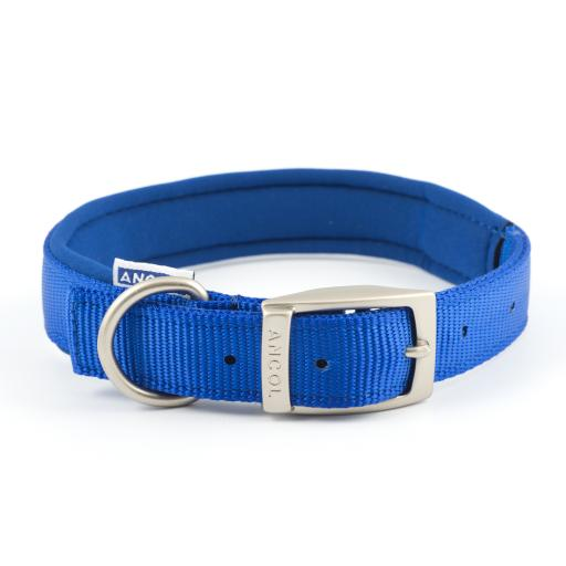 Ancol Padded Nylon Dog Collar