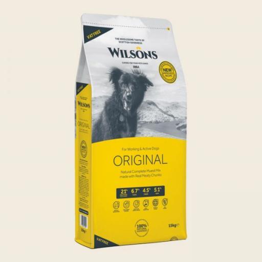 Wilsons Original Muesli Mix Dog Food 15kg