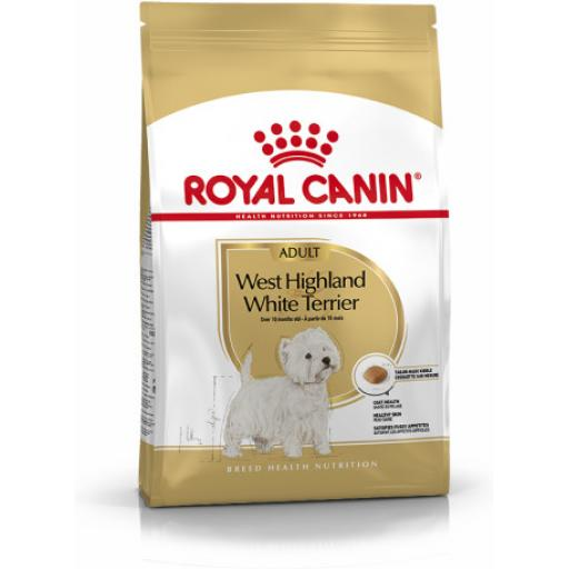 Royal Canin Adult West Highland Terrier Dog Food 3kg