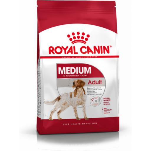 Royal Canin Medium Adult Dog Food 4kg