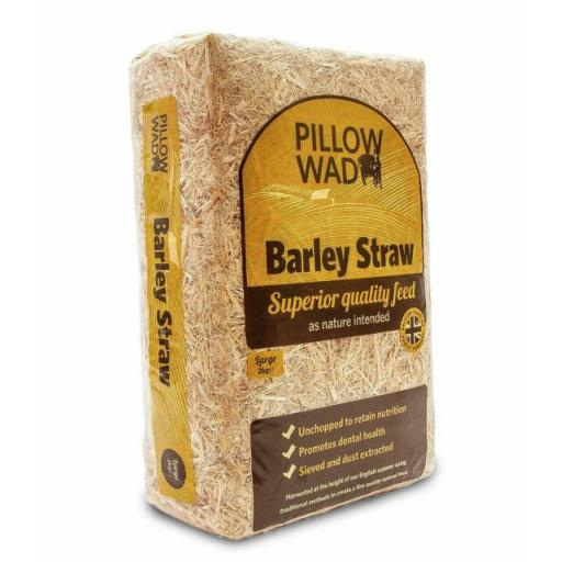 Pillow Wad Barley Straw (various sizes)