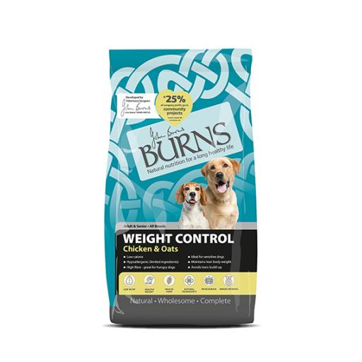 Burns Weight Control Chicken & Oats Dog Food