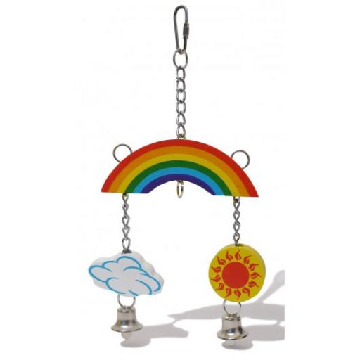 Boredom Breakers Woodies Rainbow Mobile