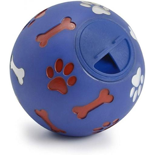 Ancol Dog Treat And Activity Ball 12cm