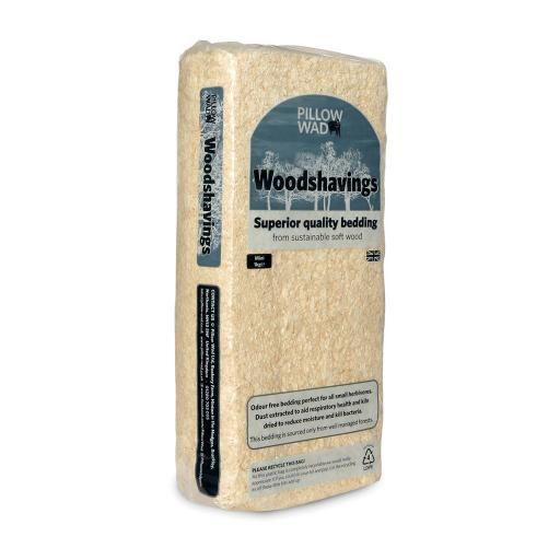 Pillow Wad Woodshavings 1kg