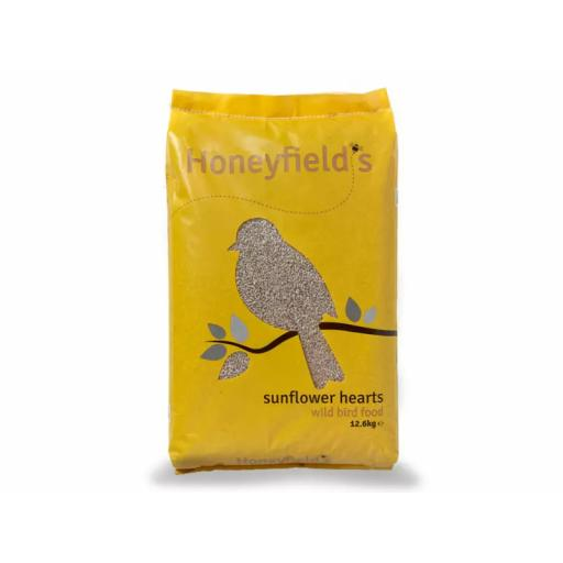 Honeyfields Sunflower Hearts, 12.6KG