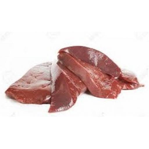 Liver Chunks Raw 1kg