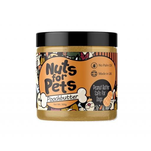 Peanut Butter Nuts For Pets Poochbutter 300g