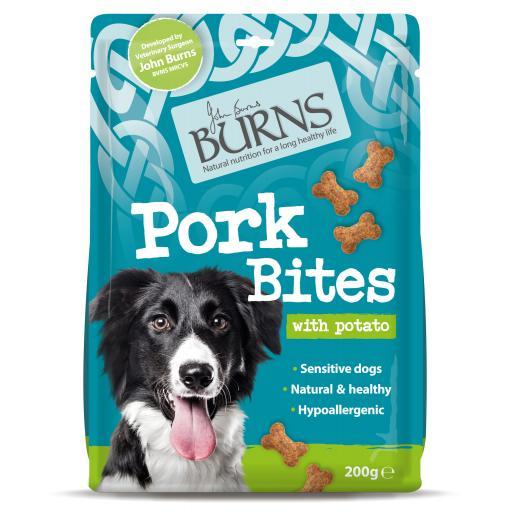 Burns Pork Bites Sensitive Treats 200g