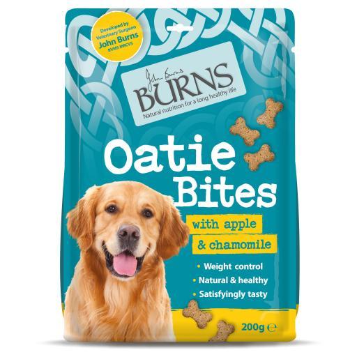 Burns Oatie Bites (Weight Control) Apple & Chamomile Treats 200g
