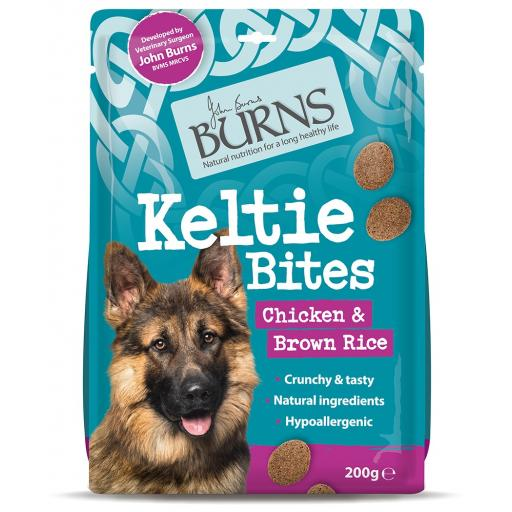Burns Keltie Bites Chicken & Brown Rice Treats 200g